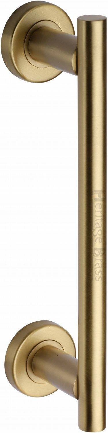 M Marcus Heritage Brass V2057SB Pull Handle Satin Brass